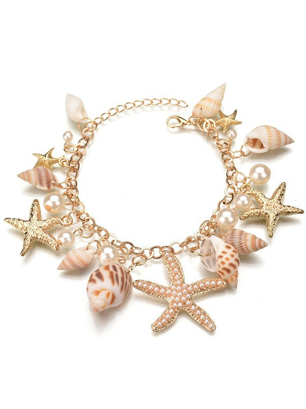Gorgeous Alloy With Pearl Necklaces For Ladies