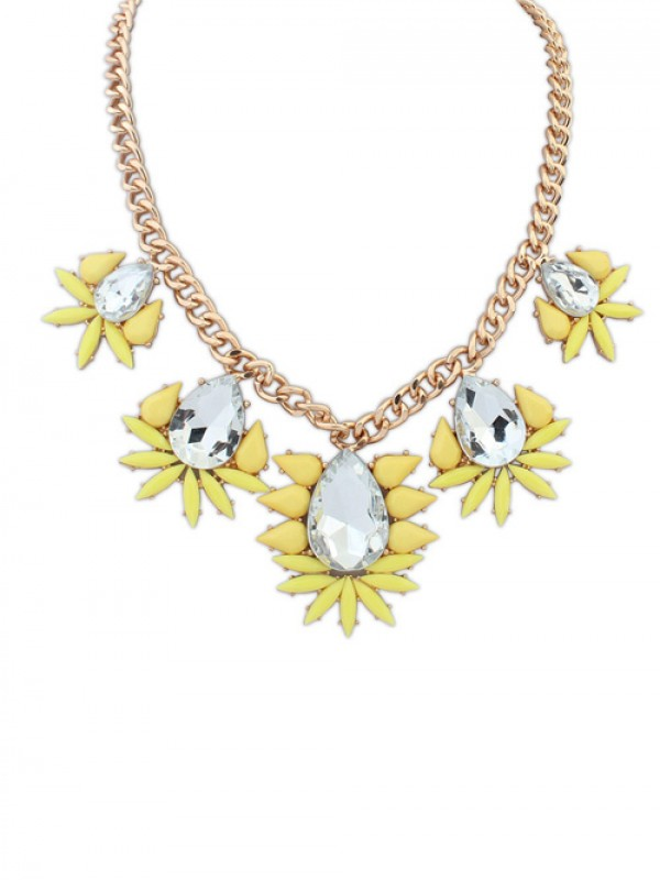 Occident Hyperbolic all-match Water Drop Hot Sale Necklace