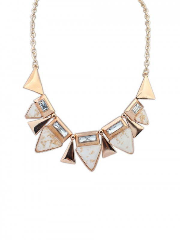 Occident OL Style Geometry Triangle Elegant Hot Sale Necklace