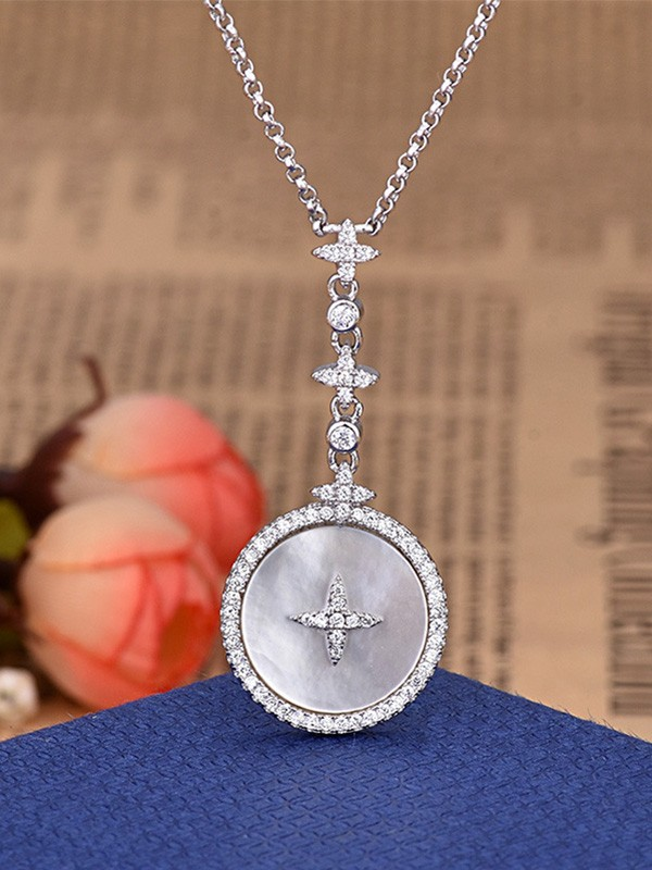 Occident Fancy Rhinestone Hot Sale Necklaces